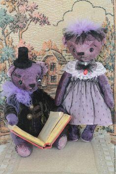 Купить Мишка Тедди Франкенштейн и Невеста Франкенштейна - мишка тедди, мишка тедди купить