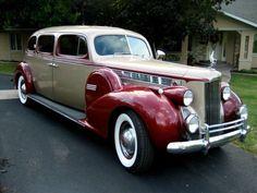 1940 Packard Limousine. Still great then.