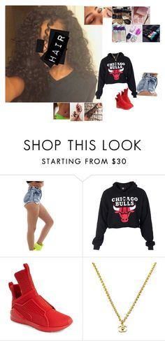 """""""Untitled #5210"""" by bby-16-gul ❤ liked on Polyvore featuring Puma and Chanel"""
