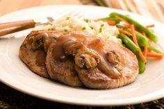 Χοιρινά μενταγιόν… για καλοφαγάδες! Sausage, Pork, Meat, Chicken, Cooking, Recipes, Kitchens, Kale Stir Fry, Kitchen