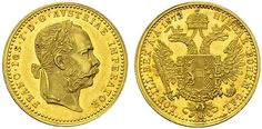 Franz Joseph I Austria, Ducat, Holy Roman Empire, Gold And Silver Coins, Lorraine, Austria, Joseph, House, Accessories, Gold, Haus