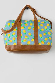 Pineapple Weekend Tote