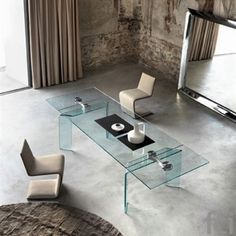 Ray Plus #ExtendableTable by #FiamItalia starting from £4,020. Showroom open 7 days a week. #fcilondon #furniture_showroom_london #furniture_stores_london  #fiamitalia_furniture #fiamitalia_tables #modern_dining_tables