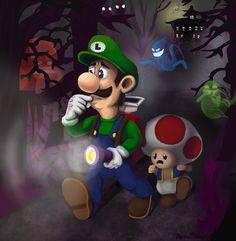 Luigi's Mansion by Farlo.deviantart.com on @deviantART