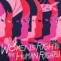 We march to right the wrong. We march because we're bossy bitches. Because, man, if you feel like a woman, you are one. Because we mean business. We're heading to D.C. and women's marches around the globe to lend our voices to hope, to change, and to our rights. Share this image in support of making it known that women's rights are human rights.  Illustrated by @ariel.r.d #WhyIMarch #WomensMarch cc: @hillaryclinton
