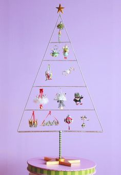 "Introducing our NEW Ornaments Display Tree ""12 Days of Christmas"" for our full size ornaments!"