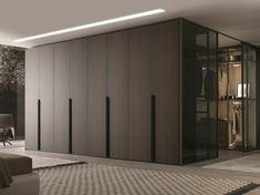 MisuraEmme Milano Solid Wood Wardrobe - Home Decorating Trends - Homedit Wooden Wardrobe, Wardrobe Design Bedroom, Bedroom Furniture Design, Bedroom Wardrobe, Wardrobe Closet, Closet Office, Wardrobe Storage, Capsule Wardrobe, Master Bedroom