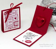 Stampin' Up! Demonstrator Pootles –Sending Love Chocolate Treats & Hidden Message It's official. I've made more Valentine's projects this year than I have ever do…