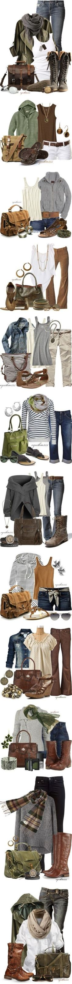 Earthy Comfort by cynthia335 on Polyvore