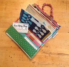 Miss Money Bags 4 Cash Envelope Wallet by missmoneybagsstore