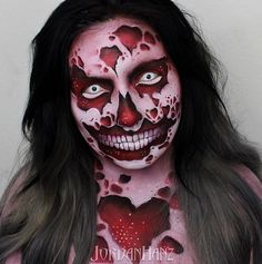 Elaborate Makeup Art : Jordan Hanz