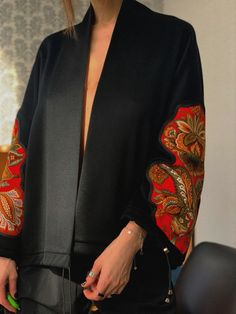 Handmade Clothes, New Life, Ukraine, Folk, Kimono Top, Blazer, Embroidery, Random, Modern