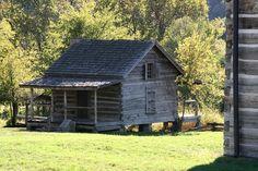 Old Log Cabin Photograph  - Old Log Cabin Fine Art Print
