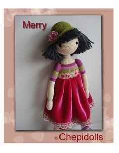Amigurumi doll ♥ by chepidolls on Etsy