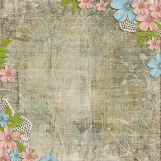Vintage Flower Background | Vintage background with lace and flower composition | Stock Photo ...