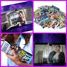 Gorgeous bags made from magazines & photos.  Check it here: http://www.soyaras.co.uk/-bags.html