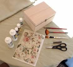 Image result for decoupage box ideas