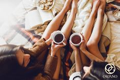 Soft photo of two sisters on the bed with old books and cup of tea in hands wearing cozy sweater , top view point. Two best friends enjoying morning. Sagittarius Personality, Cancer Personality, Sagittarius Traits, Sagittarius Girl, Martin Luther King, Brand Archetypes, Supportive Friends, Two Best Friends, Friends Girls