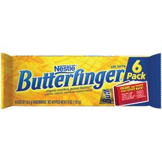 Butterfinger Candy Bars Individually Wrapped Candy, Butterfinger Cookies, Peanut Butter Candy, Rite Aid, Fun Size, Favorite Candy, Six Packs, Candy Dishes, Candyland