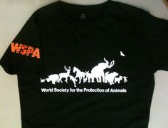 Silkscreen printed shirts by Katoenfabriek for WSPA