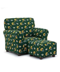 green bay packers chair nerd muuto 174 best go pack images greenbay football season imperial international club ottoman