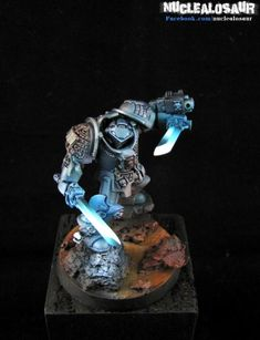 Warhammer 40k Space Wolves Wolf Scout Tête x5 Plasma Pistol