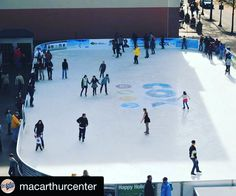 #Repost @macarthurcenter MacArthur On Ice opens at 10am this Saturday. Lace up your skates and join us for a fun day on the ice! #macarthuronice #macarthurcenter #outdooriceskating #downtown757 #downtownnorfolk #loveva #winterfun #holidaytradition #visitnorfolkva #travel by visitnorfolkva