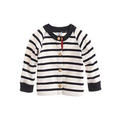 Baby Petit Bateau® stripe cardigan