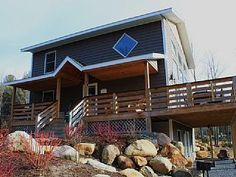 Huge Chalet with a Jacuzzi near Whiteface Mountain, Upstate New York Dry Sauna, Gas Fires, Go Camping, Home And Away, Mountain View, Jacuzzi, Dog Friends, The Good Place, Places To Go