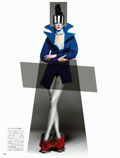 VOGUE Japan October 2012 ORGANIC NEO-TECH Photographed by Solve Sundsbo Styled by George Cortina Hair Style by