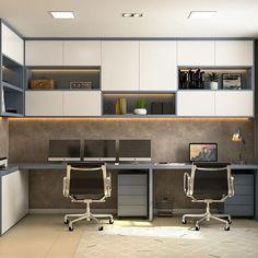 Modern Home Office Furniture, Modern Home Offices, Small Home Offices, Office Furniture Design, Office Interior Design, Home Decor Furniture, Office Interiors, Office Wall Design, Small Office Design
