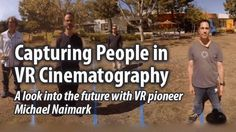 VR Cinematography: Exploring How To Represent People in VR : VR (Virtual Reality)/360º Video