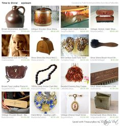 "{{{ #Treasured }}} ""Time To Shine""  @ https://www.etsy.com/treasury/MTI5NDI3MzF8MjcyNzc2NTEwNA/time-to-shine-epsteam Curated by Patti Richmond Mills @ https://www.etsy.com/shop/MissPattisAttic #Featuring my #MidCentury #Gold Tone Swirl Design Brilliant #Rhinestone #Clipon #Earrings in Mint Condition @ https://www.etsy.com/listing/153662988/mid-century-gold-tone-swirl-design?ref=tre-2727765104-7"
