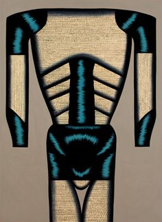 Christina Ramberg, Tight Hipped, 1974. Acrylic on Masonite, 47½ x35 ½ inches. The Bill McClain Collection of Chicago Imagism. Collection of the Madison Museum of Contemporary Art. © Estate of Christina Ramberg.