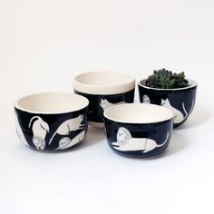 Image of JC + SS Lion Collection: Pots