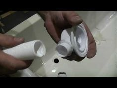 Bathroom DIY - Check out Ultimate Handyman's video about how to install a bath waste pipe! L Shaped Bath, Washing Machine, Home Improvement, Bath Tub, Diy, Bathroom, Book, Check, Youtube
