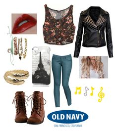 Skinnies by seyi-shobajo on Polyvore featuring American Eagle Outfitters, Old Navy, CC SKYE and Wet Seal