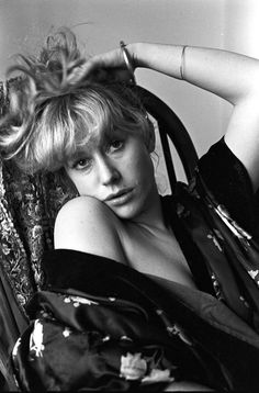 Helen Mirren by Robert Taylor, 1974.