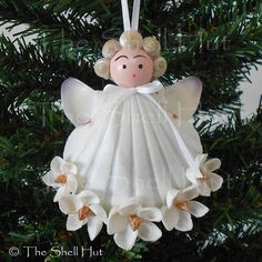 Beautiful Seashell Angel Exclusively Handmade made by The Shell Hut