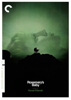 """Criterion Collection Blu-ray & DVD cover for Roman Polanski's film """"Rosemary's Baby."""""""