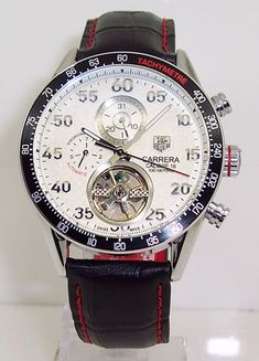 8a8e204a93ce Tag Heuer Carrera Calibre 16 Tourbillon Automatic Chrongraph Watch Carrera  Watch