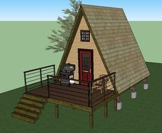 If you'r e looking to build a simple tiny A-frame cabin, I thought you might like these plans by LaMar Alexander of Simple Solar Homesteading. These plans include a detailed 30 page ebook full…
