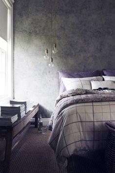 20 Hipster Home Trends We Love Gray Bedroom, Home Bedroom, Bedroom Ideas, Bedroom Decor, Bedroom Lighting, Bedroom Inspiration, Modern Bedroom, Interior Inspiration, Master Bedroom