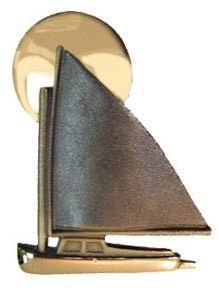 Catboat Door Knocker  www.finegardenproducts.com