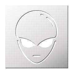 Pochoir Alien