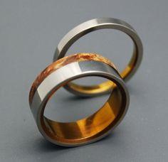 Lost Coast - Wooden Wedding Rings