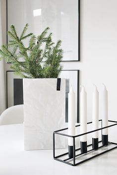 Modern Holiday // Christmas decorations