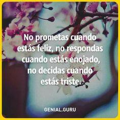 No prometas....