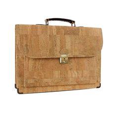 Briefcase // Front Pocket (Light Brown) by Corkor, $150 !!