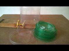 Máquina para tomar PET botellas filetes. - YouTube
